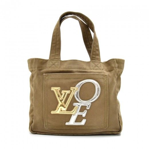 087bb1b55f95 Louis Vuitton Louis Vuitton That s Love 2 Miroir Canvas Tote ...