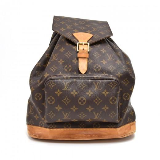 c2e2721e67c2 Louis Vuitton Vintage Louis Vuitton Montsouris GM Monogram Canvas ...