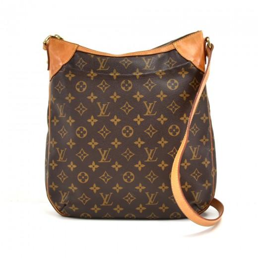 Louis Vuitton Louis Vuitton Odeon Mm Monogram Canvas Shoulder Bag