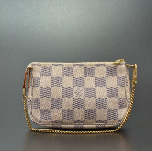 64eae8bec8 Louis Vuitton Louis Vuitton Mini Damier Azur Pochette Accessoires ...