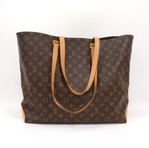 771c1dca5751 Louis Vuitton Louis Vuitton Brown Monogram Canvas Cabas Alto XL ...