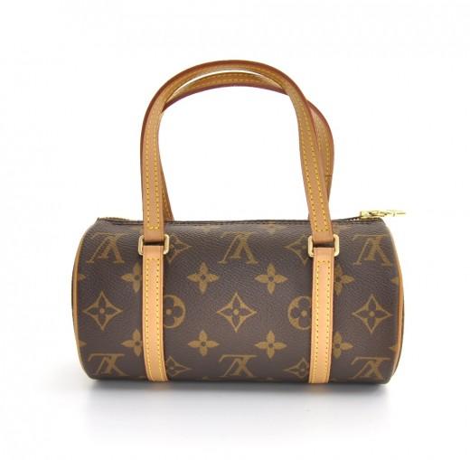 766ba200d3a36 Louis Vuitton Louis Vuitton Mini Papillon 19 Monogram Canvas Handbag
