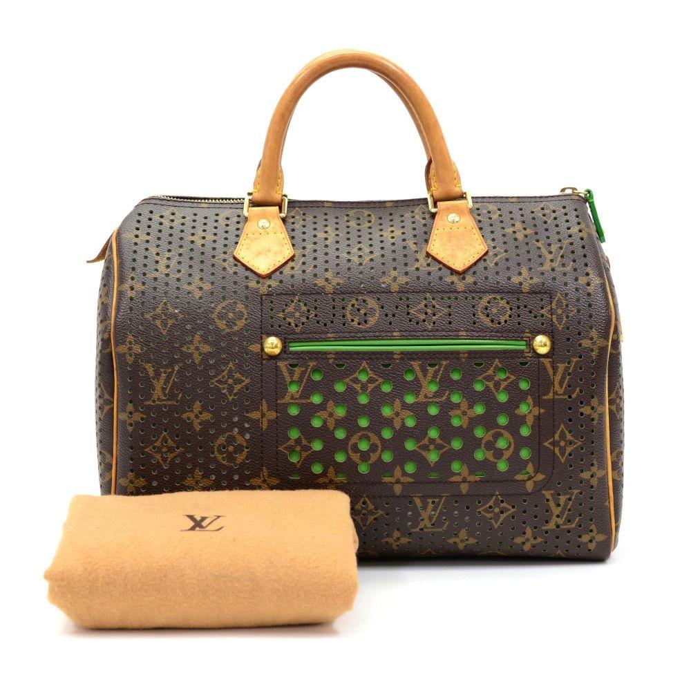 Louis Vuitton Louis Vuitton Perforated Speedy 30 Monogram Canvas ... 89248d6890d3