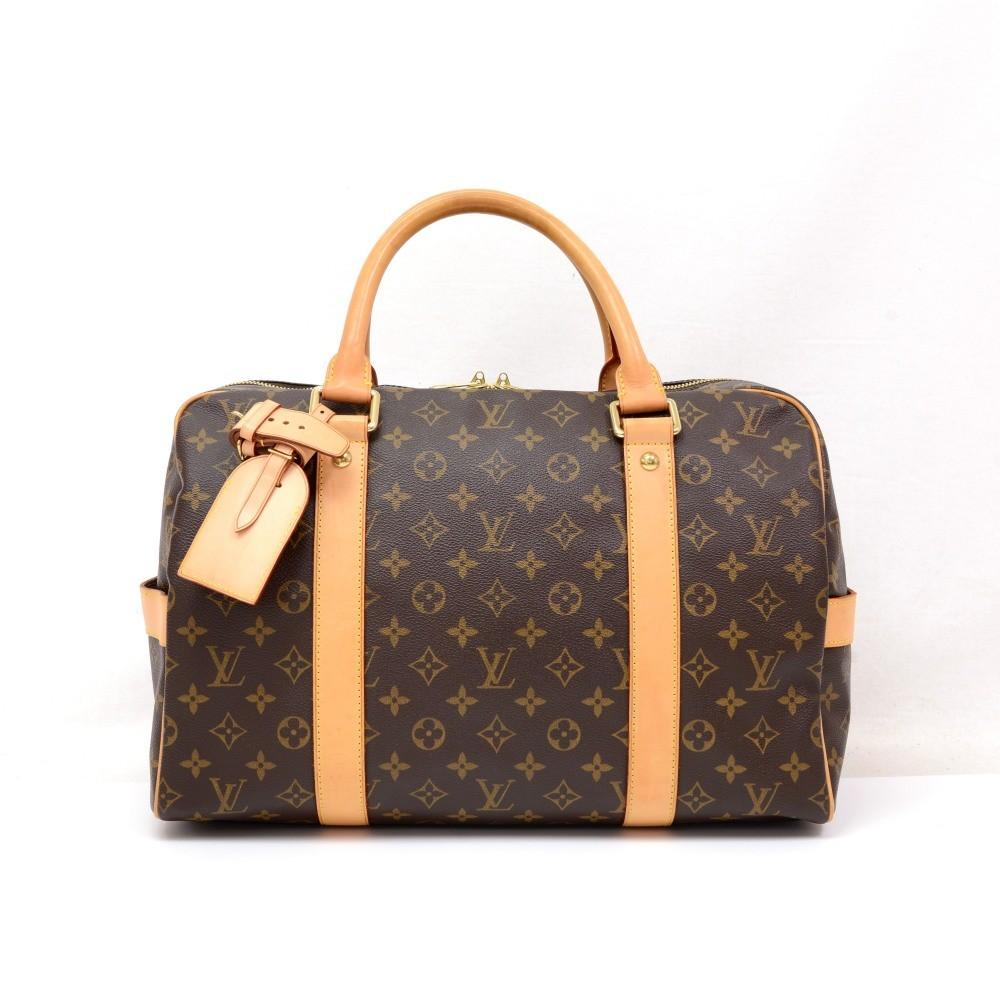 b1bea69b92a1d Louis Vuitton Louis Vuitton Carryall Monogram Canvas Travel Bag