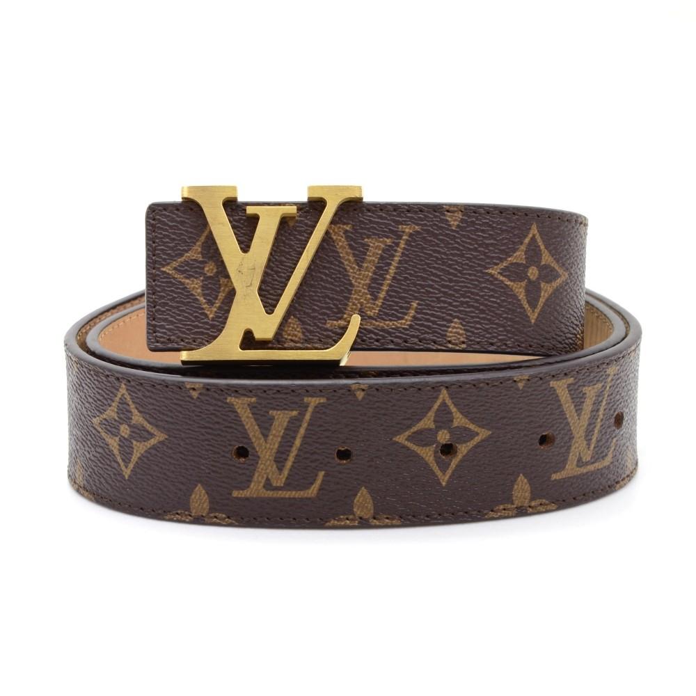 ee4eb2c0025 Louis Vuitton Louis Vuitton Ceinture LV Initiales 40mm Monogram ...
