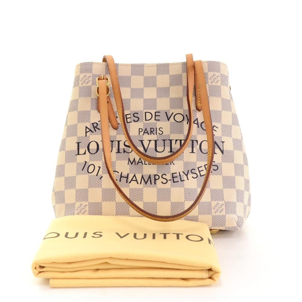 76eeaa61cb76 Louis Vuitton Louis Vuitton Cabas Adventure PM Damier Azur Canvas ...