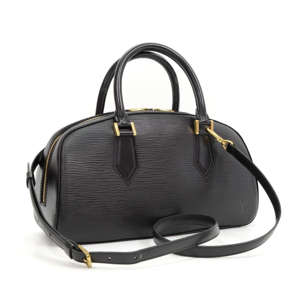 0d6c5b94c47d Louis Vuitton Louis Vuitton Jasmin Black Epi Leather Hand Bag + Strap
