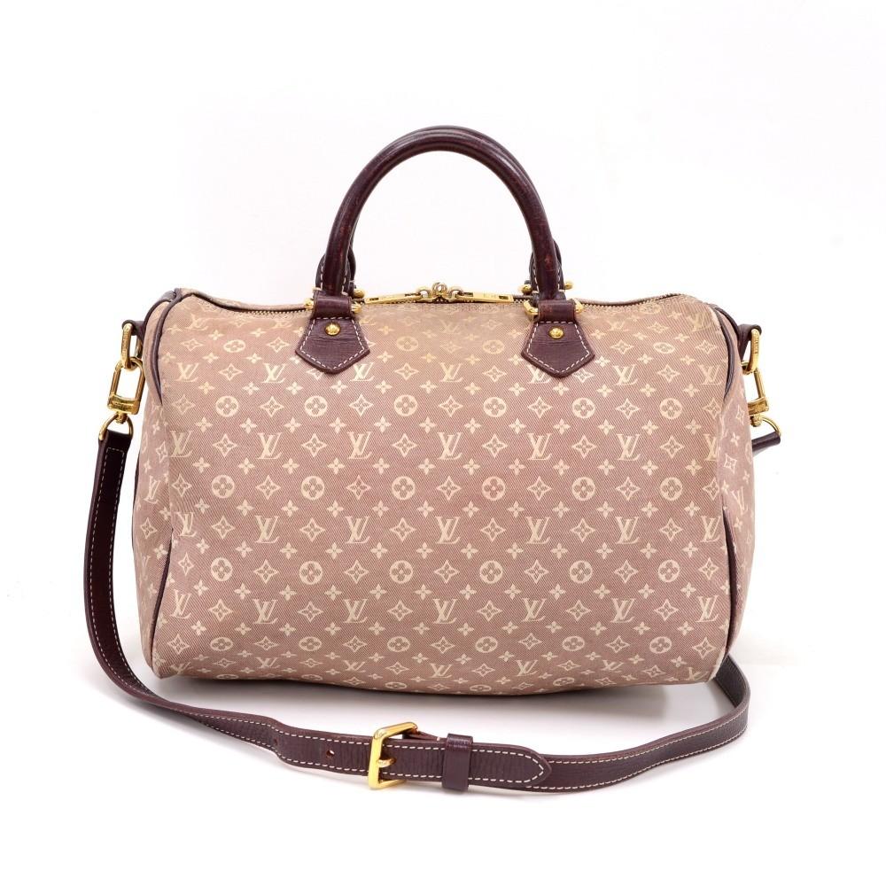 d300e3c10c42 Louis Vuitton Speedy Bandouliere 30 Purple Sepia Mini Monogram Idylle 2Way  Bag