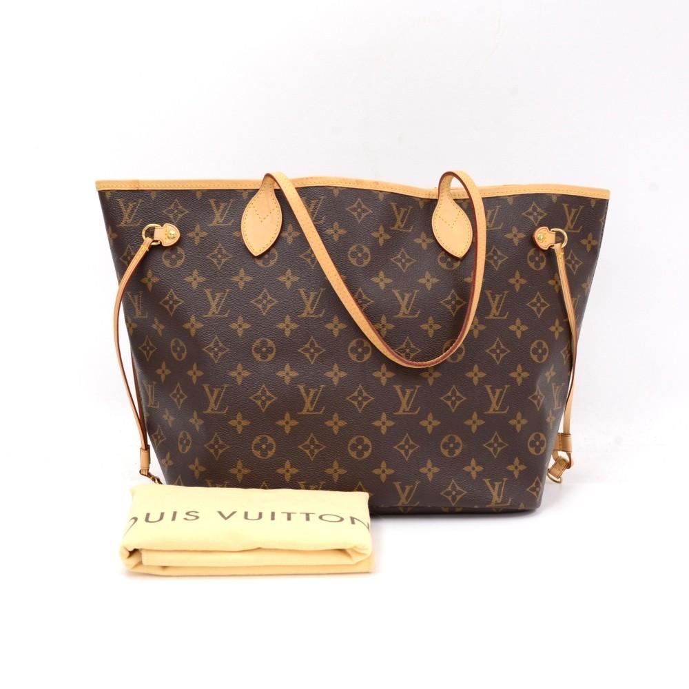 Louis Vuitton Louis Vuitton Neverfull MM Monogram Canvas Shoulder ... 4c8a7da8c0047