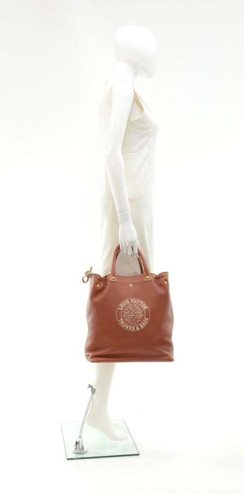4af4382577a3 Louis Vuitton Louis Vuitton Trunks   Bags Brown Tobago Leather Shoe