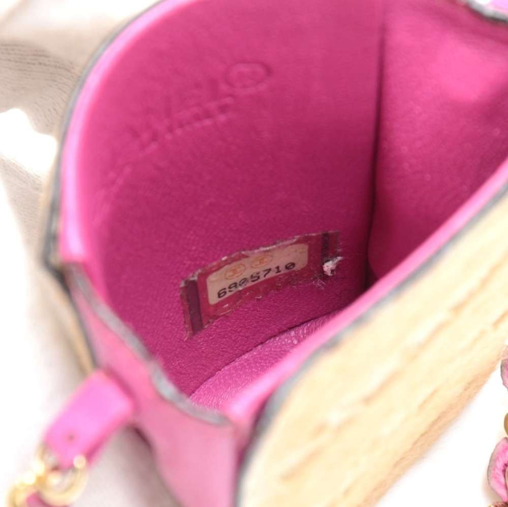 d3150d26f628 Chanel Chanel Pony Hair and Pink leather Mini Crossbody Cigarette Bag