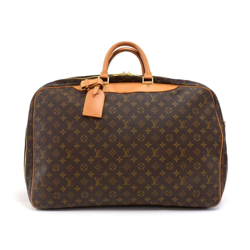 Louis Vuitton Louis Vuitton Alize 2 Poches Monogram Canvas Travel Bag fedcef44b26ae