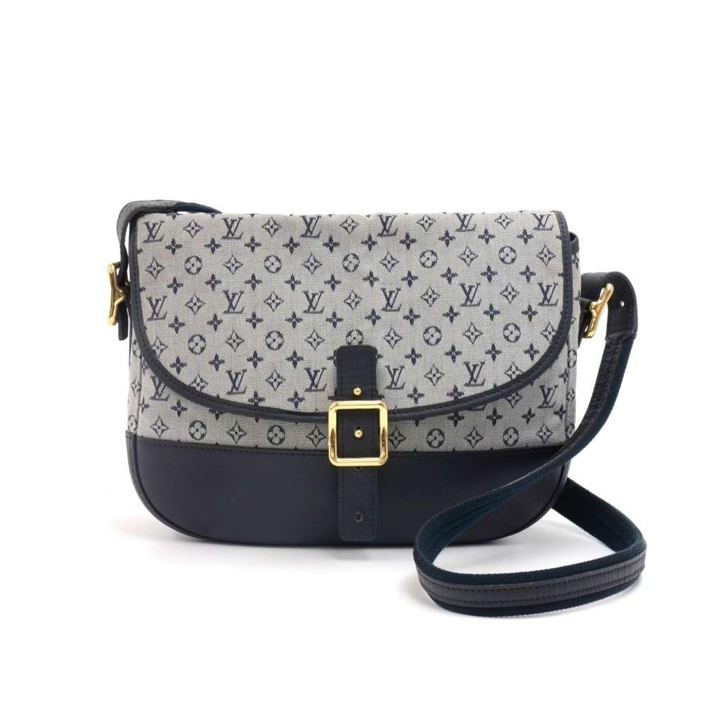 a4c4ce736af Louis Vuitton Berangere Navy Monogram Mini Lin Idylle Canvas Crossbody Bag
