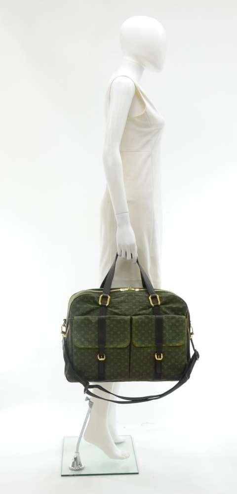 968afc84aff Louis Vuitton Louis Vuitton Claudine Green Monogram Mini Boston Bag