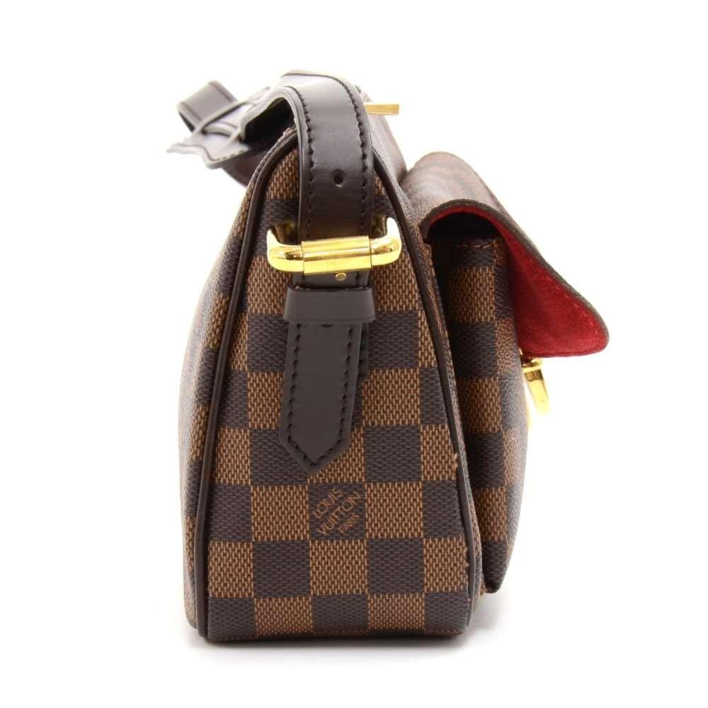 eab63bf34a1a Louis Vuitton Louis Vuitton Ravello GM Ebene Damier Canvas Shoulder ...