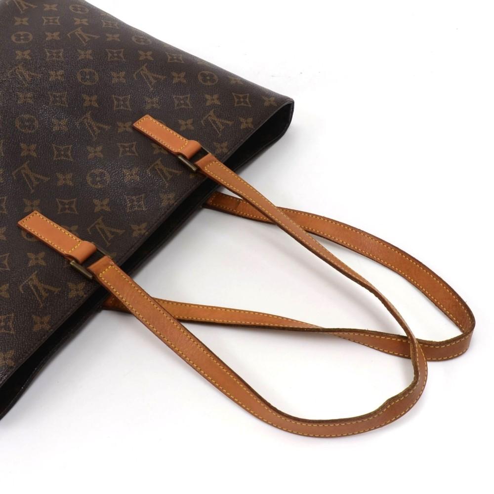 9fb343e448b3 Louis Vuitton Louis Vuitton Luco Monogram Canvas Large Tote Shoulder ...