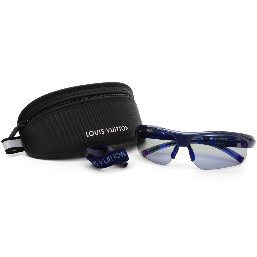 40e4b9f2de54 Louis Vuitton Louis Vuitton Blue 4Motion Water Men Sport Sunglass + ...