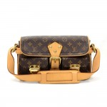 Louis Vuitton Hudson Monogram Canvas Shoulder Hand Bag