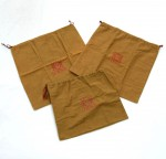 Loewe Brown Dust Bag 3 sets