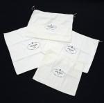 Prada White Dust Bag x 4