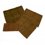 Gucci Dark Brown Dust Bag 3 sets