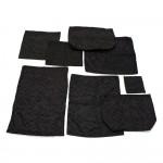 Gucci GG Monogram Black Nylon Dust Bag 8 sets
