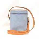 Louis Vuitton Sullivan Vertical Pochette  Blue Vernis Leather Shoulder Bag