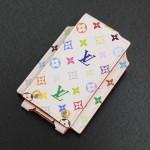 Louis Vuitton White Multicolor Monogram Canvas iPod Mini Case