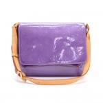 Louis Vuitton Thompson Street Purple Vernis Leather Shoulder Bag