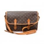Vintage Louis Vuitton Sac Gibeciere Monogram Canvas Shoulder Bag