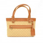 Louis Vuitton Lucille PM Beige Monogram Mini Canvas Hand Bag
