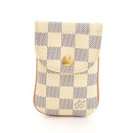 Louis Vuitton Etui Telephone MM Damier Azur Canvas Phone Case