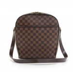 Louis Vuitton Ipanema GM Ebene Damier Canvas Shoulder Bag