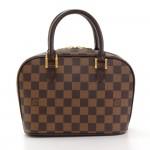 Louis Vuitton Sarria Mini Ebene Damier Canvas Hand Bag