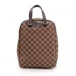 Louis Vuitton Sac Excursion Ebene Damier Canvas Handbag