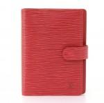 Louis Vuitton Agenda PM Red Epi Leather Agenda Cover
