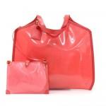 Louis Vuitton Plage Lagoon GM Red Vinyl Beach Bag
