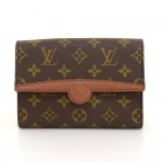 Louis Vuitton Pochette Arche Monogram Canvas Clutch Bag