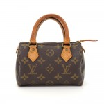 Vintage Louis Vuitton Mini Speedy Sac HL Monogram Canvas Hand Bag
