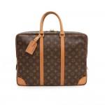 Louis Vuitton Porte Documents Voyage Monogram Canvas Briefcase Bag