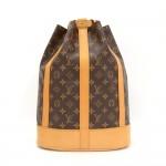 Louis Vuitton Randonee PM Monogram Canvas Shoulder Bag