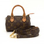Louis Vuitton Mini Speedy Sac HL Monogram Canvas Hand Bag + Strap