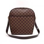 Louis Vuitton Ipanema GM Brown Ebene Damier Canvas Shoulder Bag