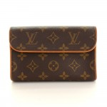 Louis Vuitton Pochette Florentine Monogram Canvas Waist Bag