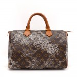 Louis Vuitton Speedy 30 Monogram Dentelle Canvas City Hand Bag - 2007 Limited