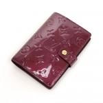 Louis Vuitton Agenda Fonctionnel PM Purple Violet Vernis Leather Agenda Cover