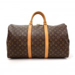 Vintage Louis Vuitton Keepall 50 Monogram Canvas Duffle Travel Bag