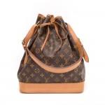 Louis Vuitton Noe Large Monogram Canvas Shoulder Bag