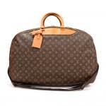 Vintage Louis Vuitton  Alize 3 Poches Monogram Canvs Travel Bag + Strap