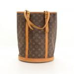 Louis Vuitton Bucket GM Monogram Canvas Shoulder Bag